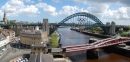 Newcastle e a Ponte do Tyne