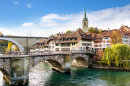 Lower Gate Bridge in Bern, Switzerland