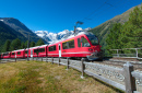 Bernina Express, Alpes Suíços