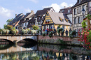 Canals of Colmar, Alsace, France