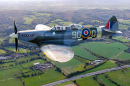 Spitfire MJ627, Biggin Hill, Londres, UK