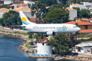 Skiathos Airport in Greece