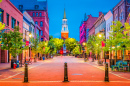 Church Street Marketplace, Burlington, Vermont