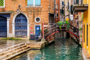 Picturesque Canal in Venice