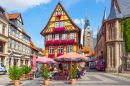 Town Square of Quedlinburg, Germany